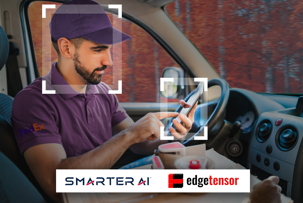 Edgetensor and Smarter AI Collaborate to Bring Driver Monitoring To Video Telematics and Fleet Management Systems