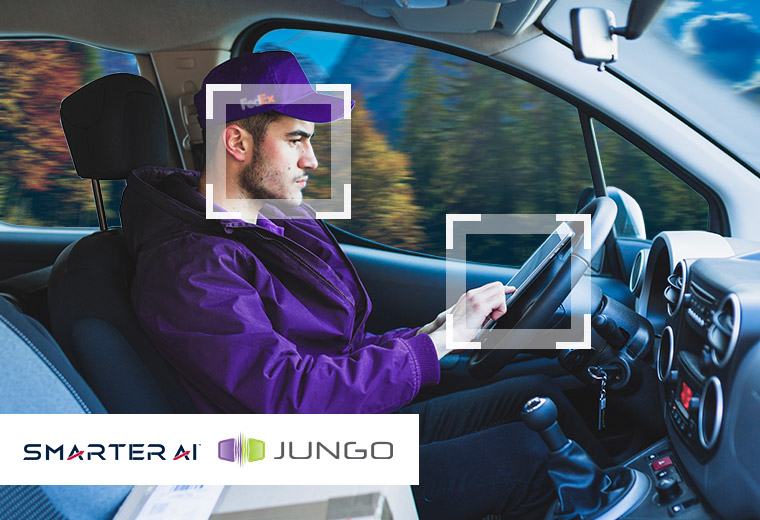 Jungo Connectivity and Smarter AI Collaborate to Bring Driver and Cabin Monitoring To Video Telematics Devices and Fleet Management Systems